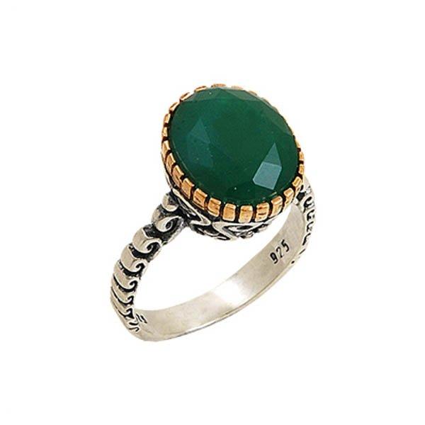 Ottoman Style CZ Ring - R00097