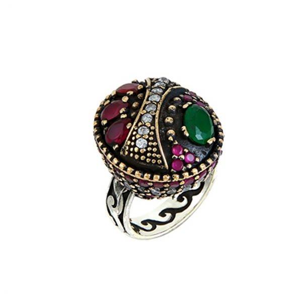 Ottoman Style CZ Ring - R00105