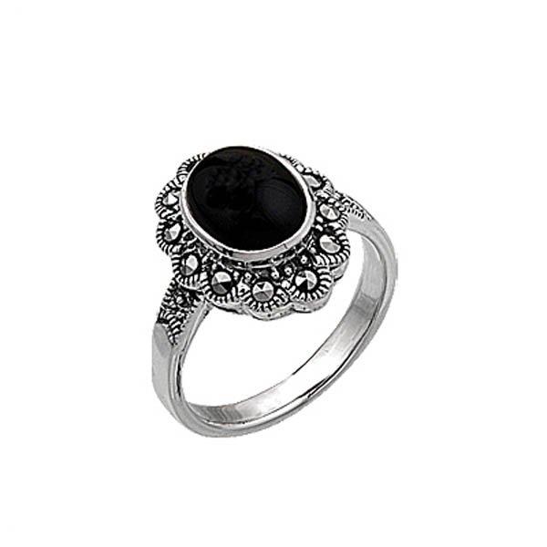 Marcasite Ring - R00404