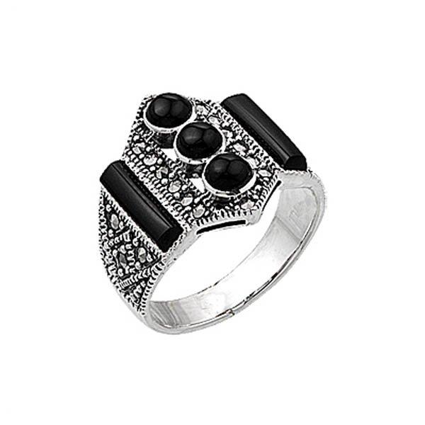 Marcasite Ring - R00406