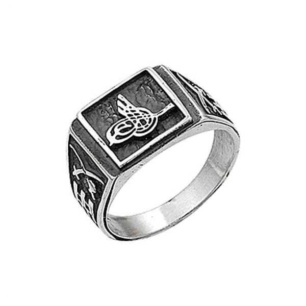 Tughra Mens Ring - R00682