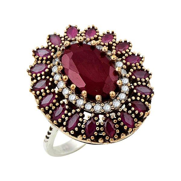 Ottoman Style CZ Ring - R08649