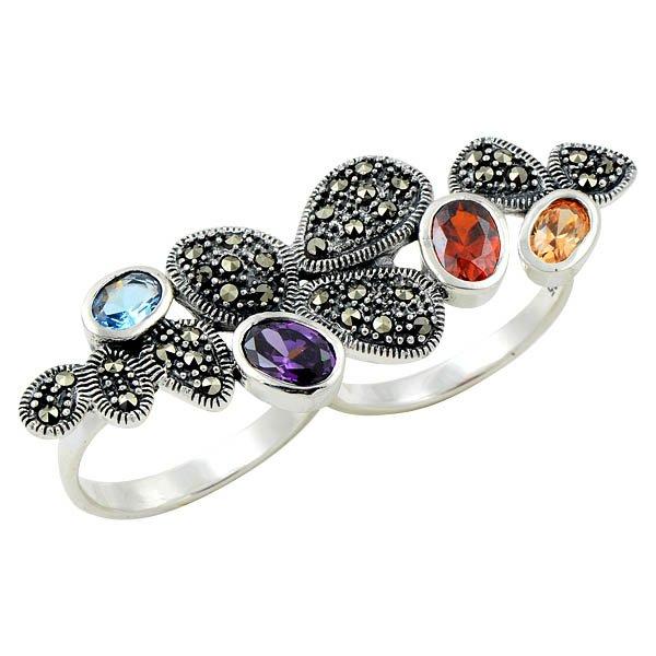 Marcasite Ring - R08658