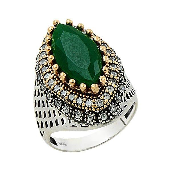 Ottoman Style CZ Ring - R09131
